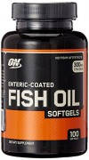 Optimum Nutrition (ON) Fish Oil – 100 Softgels