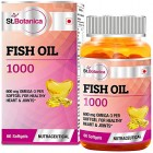 St.Botanica Fish Oil 1000 mg (Double Strength) – 60 Softgels