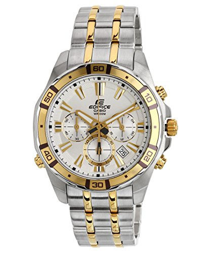 Casio Edifice Stopwatch Chronograph Multi-Colour Dial Men's Watch - EFR-534SG-7AVDF (EX176)