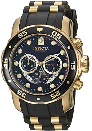 Invicta Pro-Diver Analog Black Dial Men's Watch - 6981