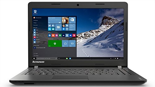 Lenovo Ideapad 100 15IBY 15.6-inch Laptop (Pentium N3540/4GB/500GB/Windows 10 Home/Integrated Graphics), Black