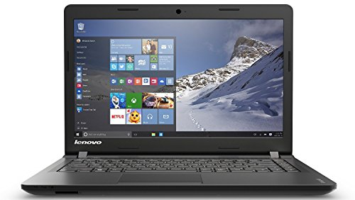 Lenovo Ideapad 100 80MH0081IN 14-inch Laptop (Intel Pentium-N3540 / 4GB / 500GB / Windows 10 / Integrated Graphics), Black