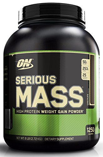 Optimum Nutrition (ON) Serious Mass - 6 lbs (Chocolate)