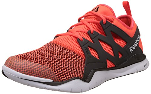 Reebok Men's Zcut Tr 3.0 Red, Black and White Multisport Training Shoes - 10 UK
