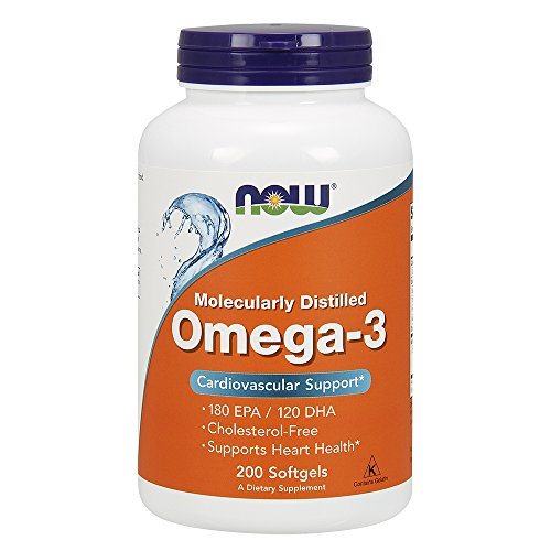 Now Foods, Omega-3, Cardiovascular Support, 200 Softgels