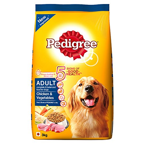 Dog Show 2017 Winners >> Pedigree Adult Dog Food Chicken & Vegetables (3kg Pack) Best Deal and Price Tracking