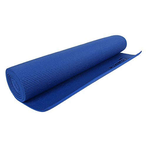 Strauss Yoga Mat (Blue) Best Deal And Price Tracking
