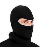 Balaclava Bike Riding Face Mask (Black)