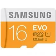 Samsung Evo 16GB Class 10 micro SDHC Card