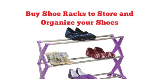 Buy Shoe Racks to Store and Organize your Shoes