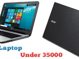 Best Laptop Under 35000