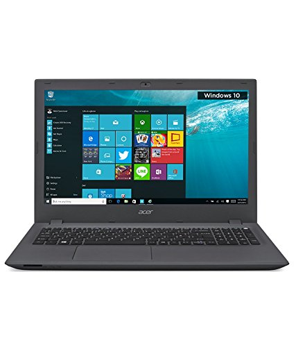Acer Aspire E E5-573G-380S 15.6-inch Laptop (Core i3 5005U/4GB/1TB/Windows 10 Home/Nvidia GeForce 920M Graphics), Charcoal Grey