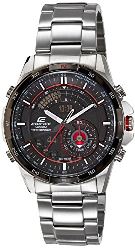 Casio Edifice Chronograph Black Dial Men's Watch