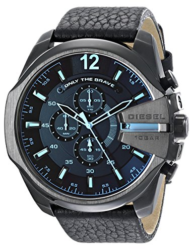 Diesel Chi Analog Black Dial Men's Watch - DZ4323