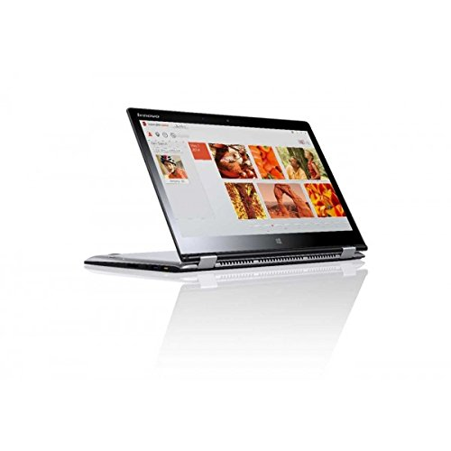 Lenovo Yoga 3 14-inches 80JH00A2IN 14-inch Touchscreen Laptop (Core i7-5500U/8GB/256GB SSD/Win 8.1/2GB Graphics), Light Silver