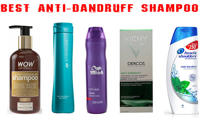Top 5 Best Anti-Dandruff Shampoos In India