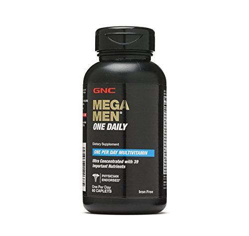 GNC Mega Men One Daily - 60 Caplets