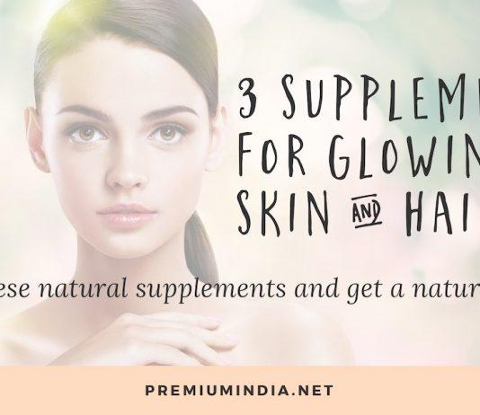 3 Best Supplements for Skin & Hair (Get Glowing Skin!)