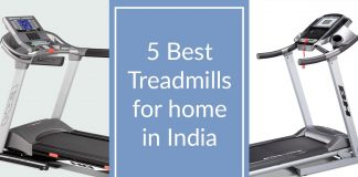 Best Treadmills For Home Use In India