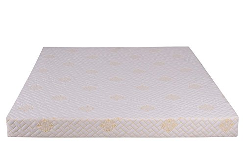 Springtek Ortho Memory Foam 5-inch Queen Size Mattress (White, 78x60x5)