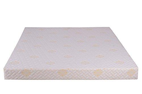 Springtek Ortho Memory Foam 5-inch Queen Size Mattress (White, 78x60x5)