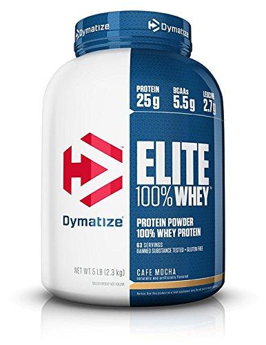 Dymatize Elite Whey - 5 lbs (Cafe Mocha)