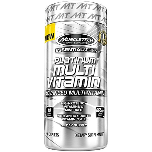 Muscletech Multi Vitamin Essential Series - 90 Capsules